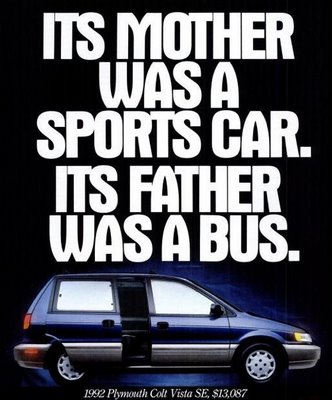 1992 Plymouth Colt Advertisment