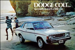 Dodge Colt Advertisement - So Much in Such a Little Car
